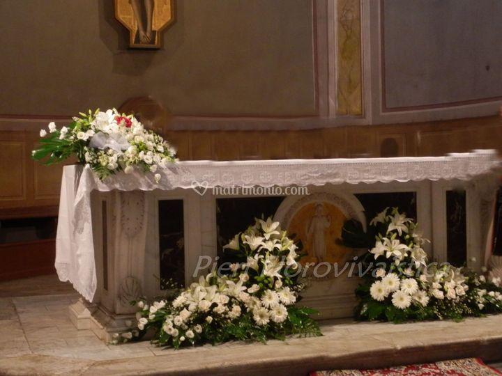 Cesti sotto l'altare