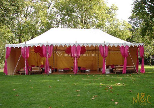 Tensostrutture/tendoni per matrimoni di Wedding Planner - M&C VIS - Gruppo Togni  Foto 5
