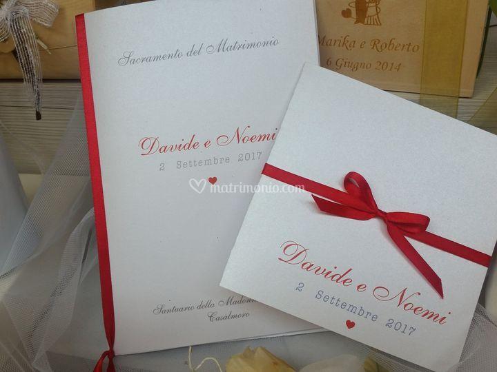 Coordinato inviti/libretto