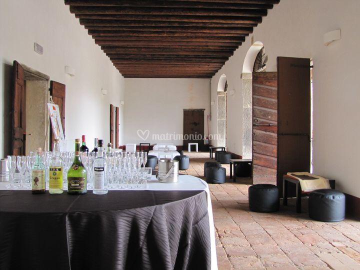 Open bar in Tinaia