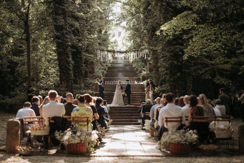 Cerimonia civile nel Parco