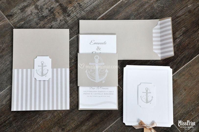 Wedding stationary marino