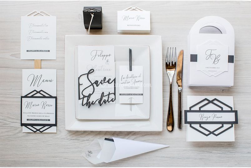 Modern Calligraphic Stationary