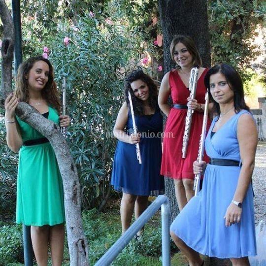 Virtuoso flute quartet
