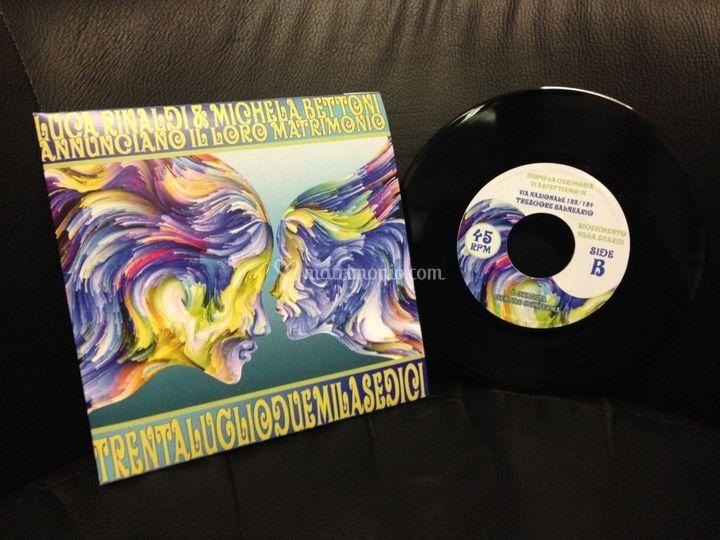 Veri dischi in vinile 45 giri