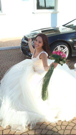 Sposa bouquet.