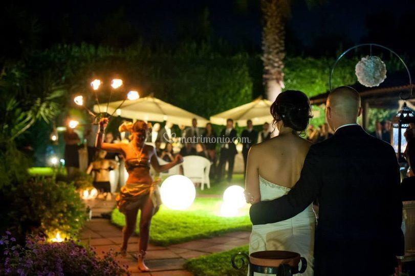 Il giardino di notte di Il Bagatto Ristorazione ed Eventi