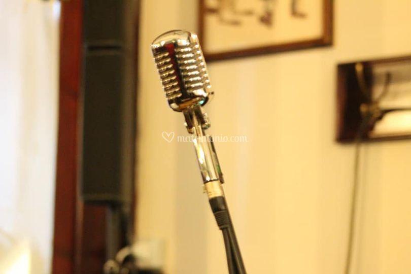 Il mitico microfono in stile!