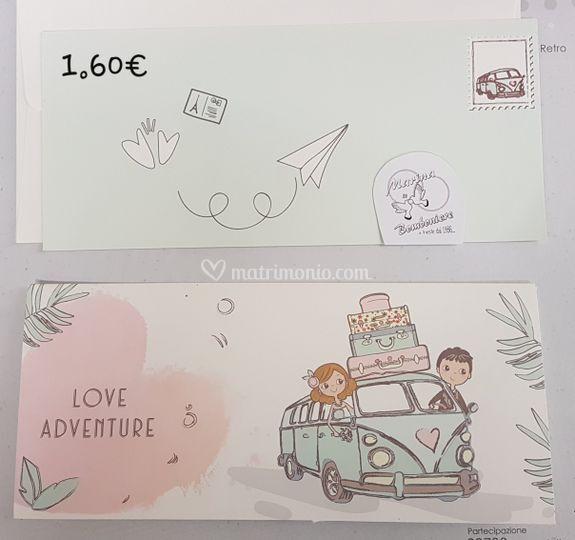 Partecipazione love adventure