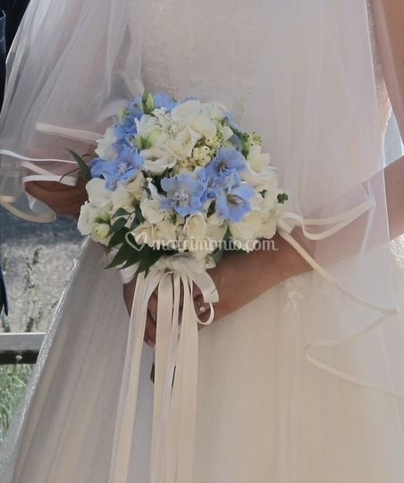 Bouquet di delphinium