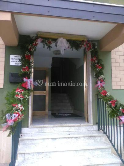 Casa sposa tema natalizio