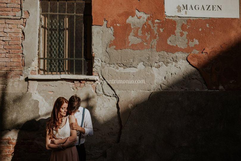 Engagement a Venezia