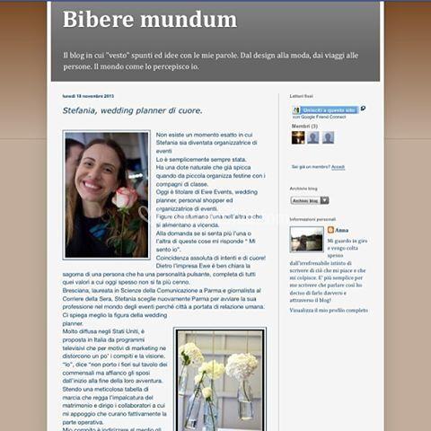Intervista bibere mundum blog