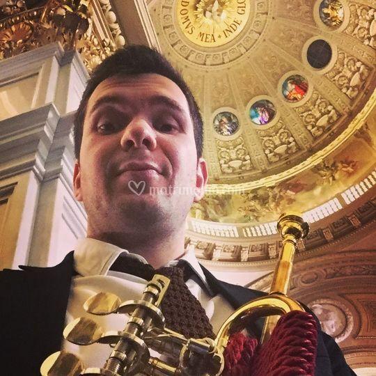 Torino, tromba e organo