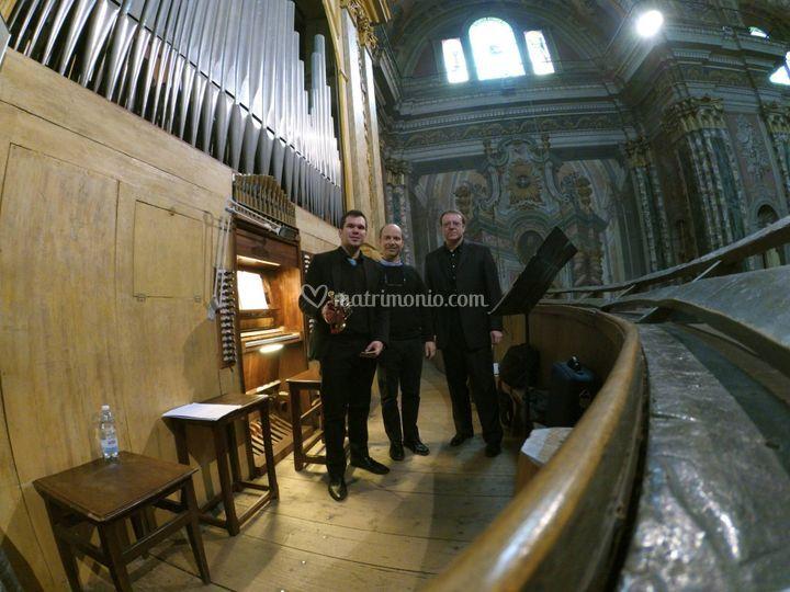 Feletto, tromba e organo