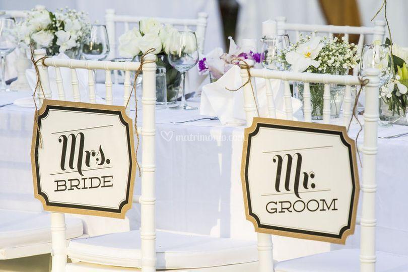 Men nuziali di welcome idea gourmet for Idee originali per testimoni di nozze