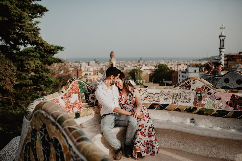 Engagement a Barcellona