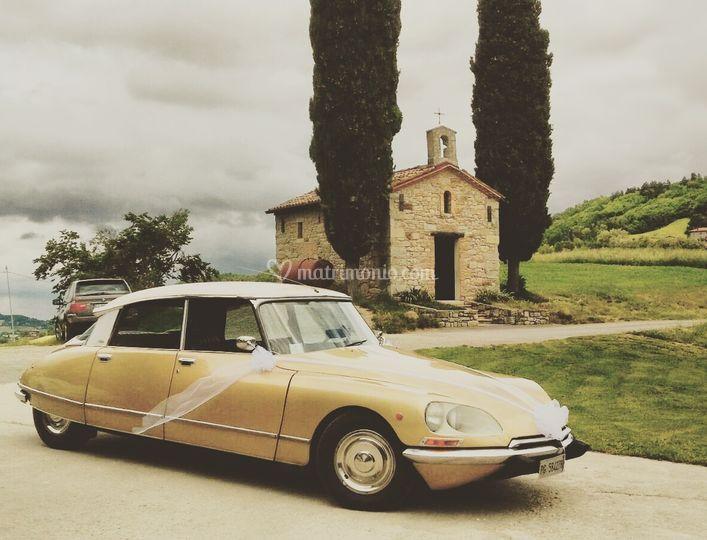 Squalo Wedding car