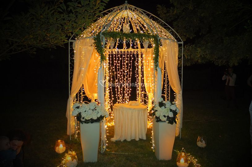 Gazebo illuminato