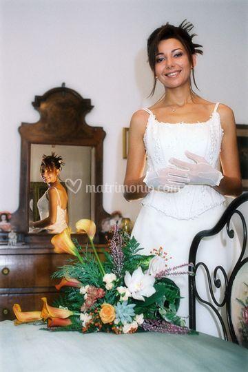 Fotografia sposa Moderna Blu Studio