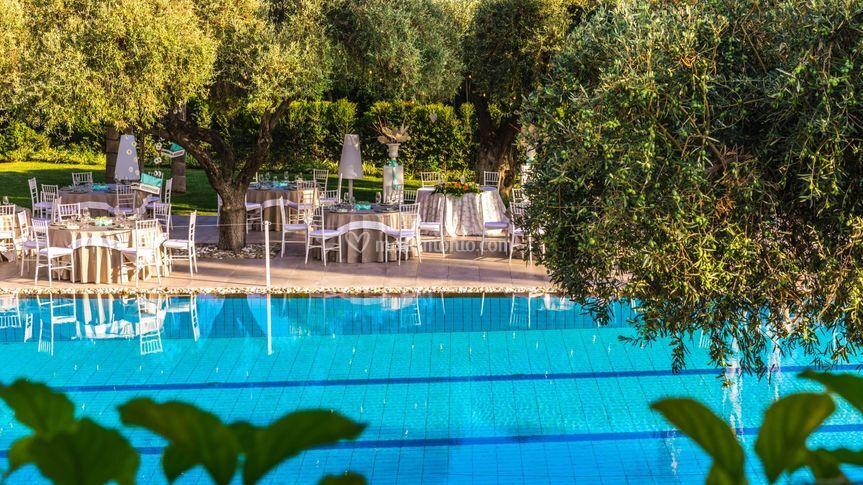 La piscina di giorno