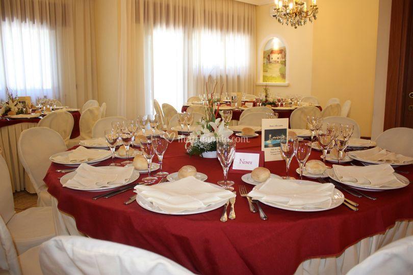 Tavoli per nozze