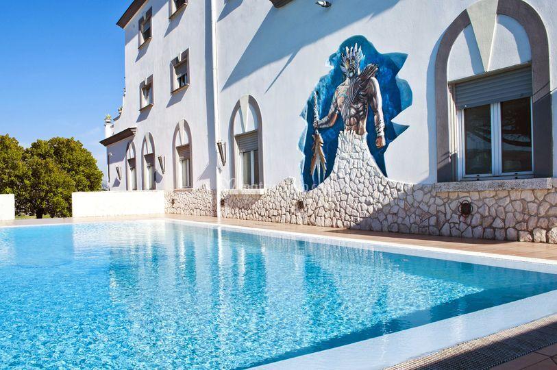 Villa deorum for Piscina olimpia nettuno
