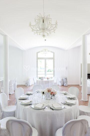 Pranzo in sala Ginette