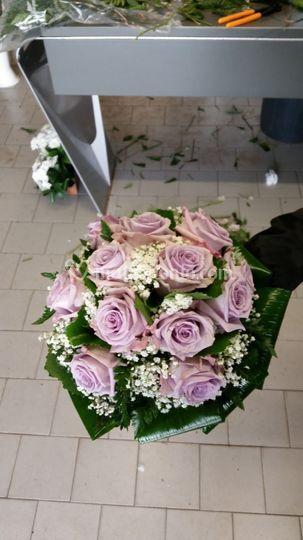 Bouquet rose ocean