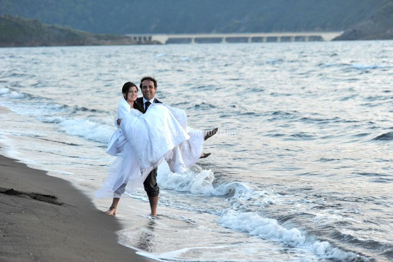 Amore in riva al mare