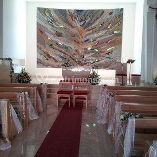 Fiori per la chiesa