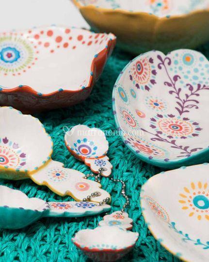 Bomboniera ad ceramica