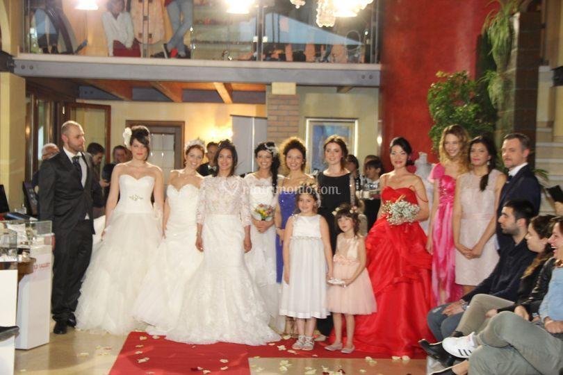 Sfilata moda sposa