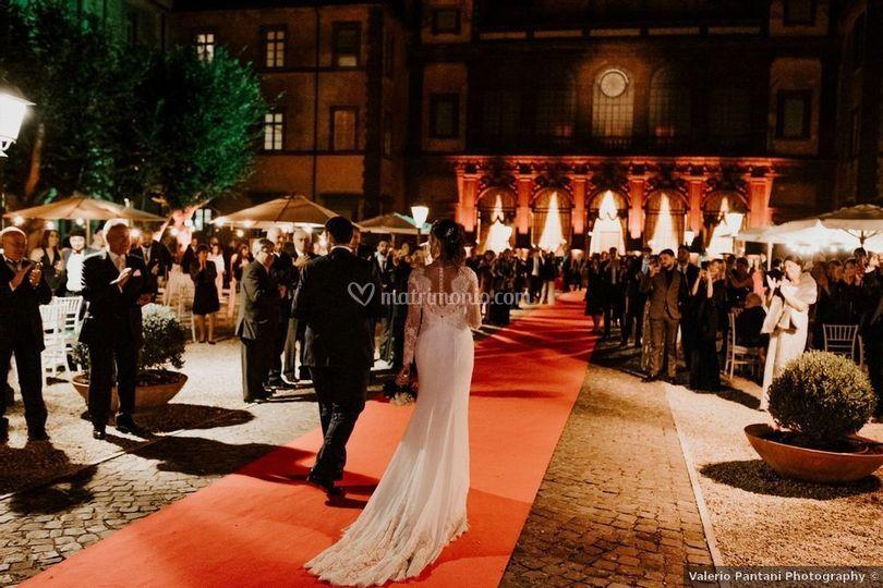 Corte red carpet