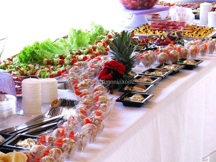 Buffet pranzo comunione di La Gastroteca di Majco Basaldella  Foto