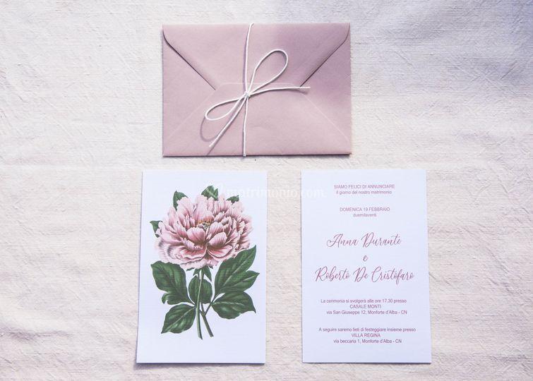 Flower - invito