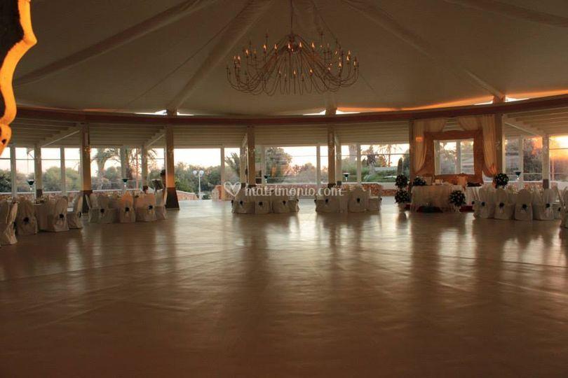 Cupola bianca resort for Sala degli sposi