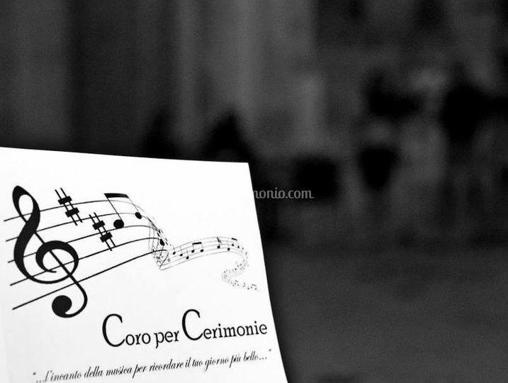 Il Coro per la vostra cerimonia