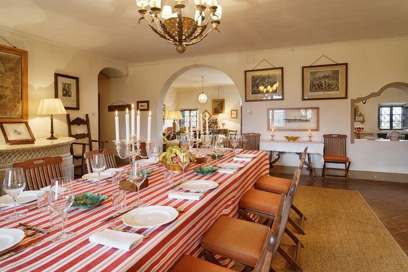 Sala da pranzo piano terra