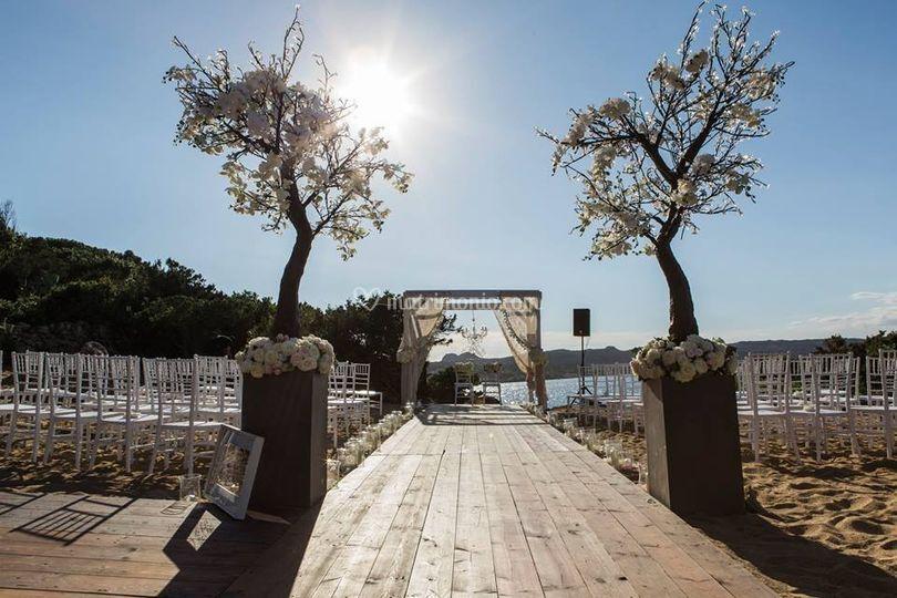 Cerimonia Simbolica Spiaggia