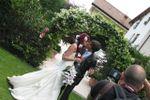 Giardino arrivo sposi