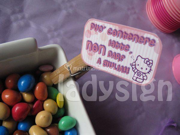 Candy pillow messaggio