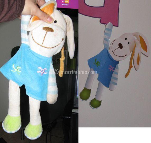 Festone giulia  disegno bunny