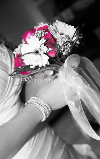 Bouquet color splash