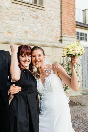La Wedding Planner e la sposa