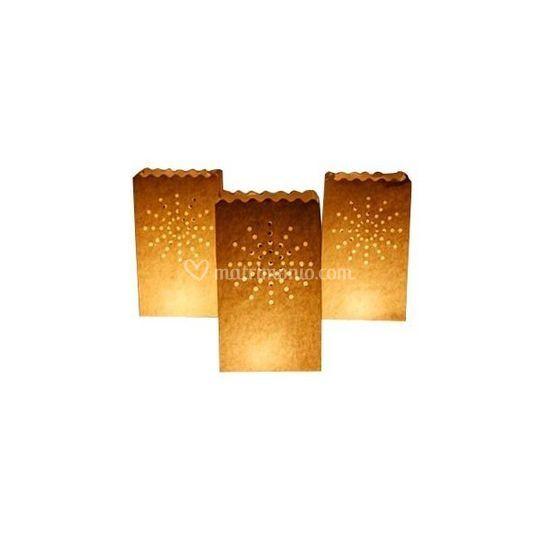 Sacchetti porta candele large