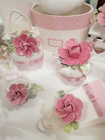 Delicatissimi fiori rosa