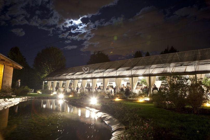 Jardin à Vivre by night