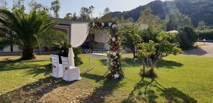 Cerimonia giardino