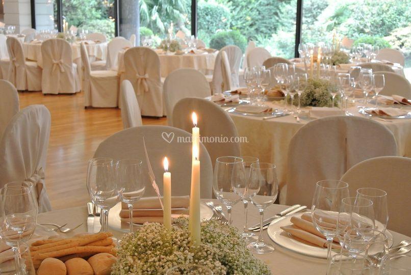 Villa argenta for Allestimento giardino matrimonio